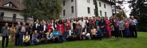 Participants at the GFBR meeting in the beautiful setting of the Fondation Mérieux, France, 4 November 2015