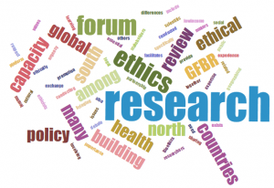 Global Forum on Bioethics & Research